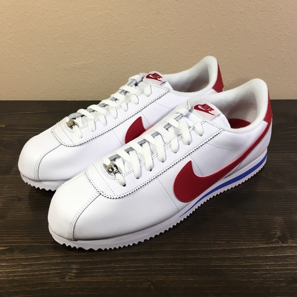 premium selection 24940 8d078 Nike Classic Cortez Basic Leather OG Forrest Gump NWT